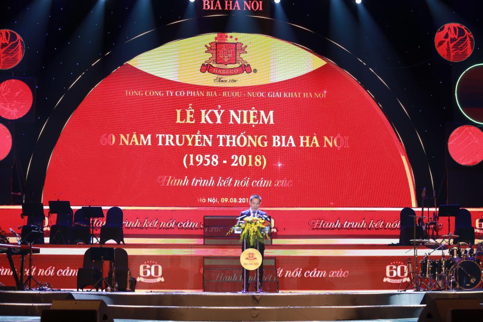 Lễ kỷ niệm 60 năm truyền thống Bia Hà Nội (15/8/1958 – 15/8/2018)