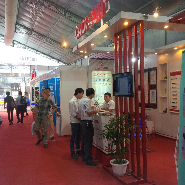 CADI-SUN tham gia Triển lãm Quốc tế Vietbuild Hà Nội 2017.