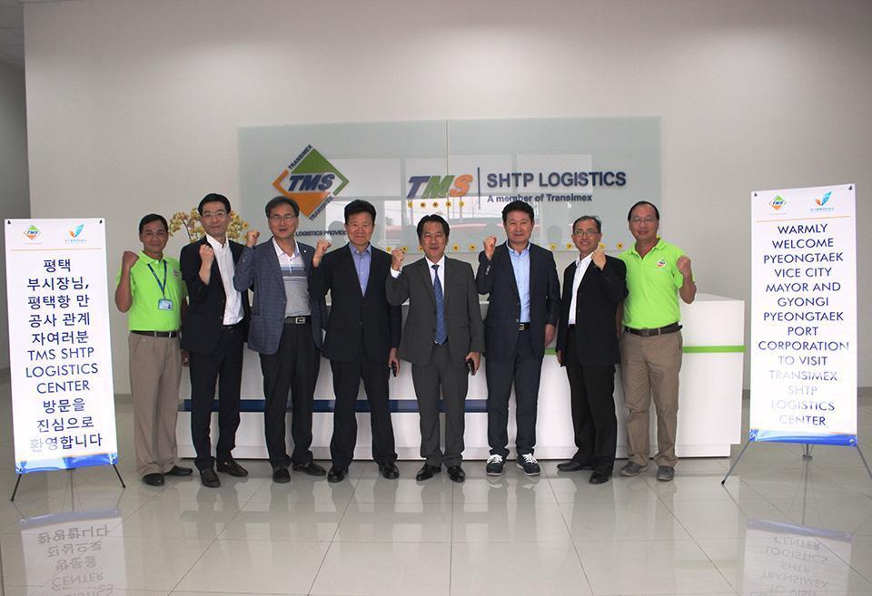 Transimex đón tiếp Phó thị trưởng thành phố Pyeongtaek và Phái đoàn cảng Pyeongtaek Hàn Quốc