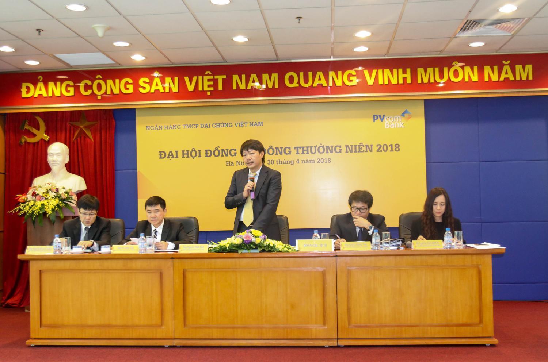 PVcomBank tổ chức thành công Đại hội đồng cổ đông thường niên 2018