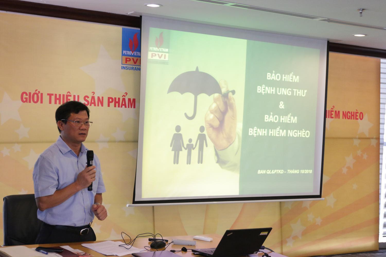 Bảo hiểm PVI giới thiệu sản phẩm Bảo hiểm Bệnh ung thư và Bảo hiểm Bệnh hiểm nghèo