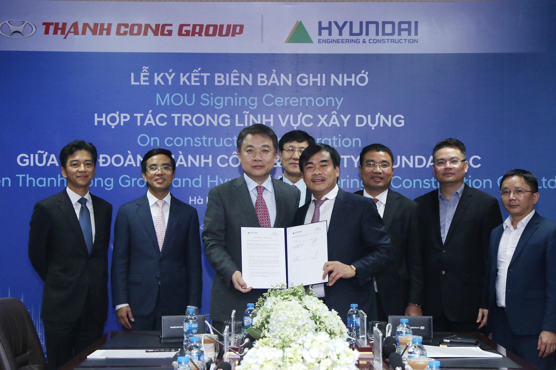 Tập đoàn Thành Công hợp tác cùng Hyundai E&C tại Việt Nam