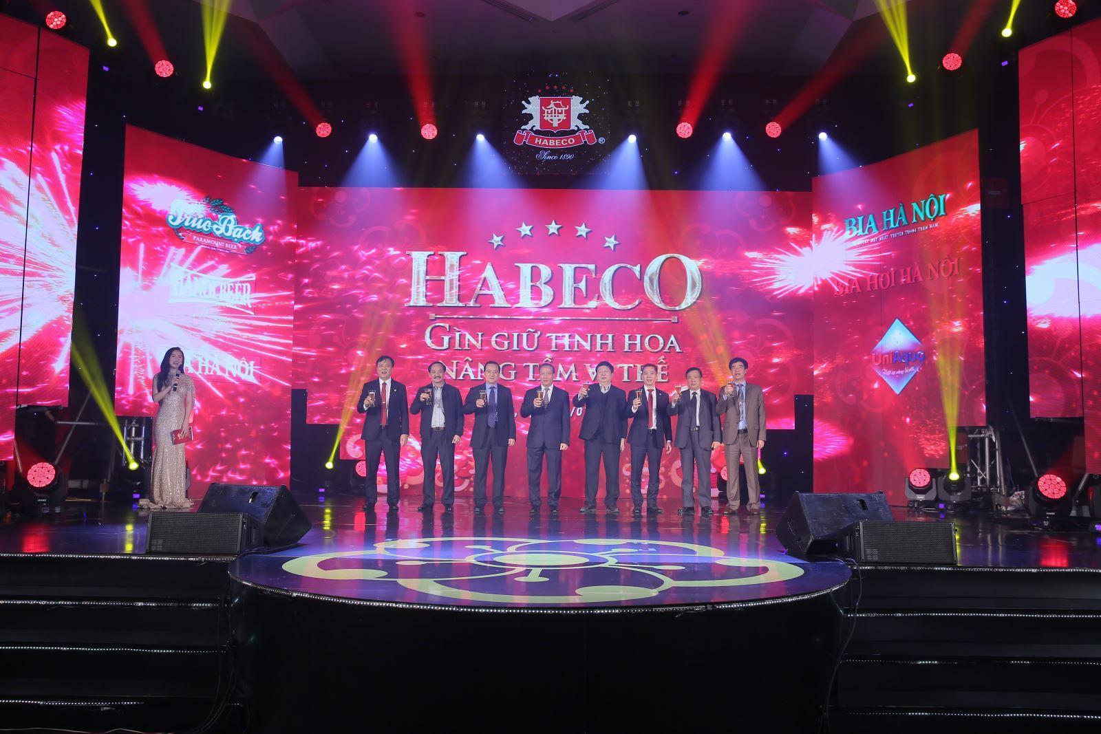 HABECO đặt mục tiêu doanh thu trên 12.000 tỷ đồng năm 2019