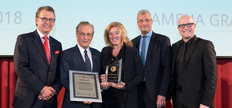 Nhà tư tưởng Fredmund Malik được trao tặng Giải thưởng Thành tựu Cuộc sống