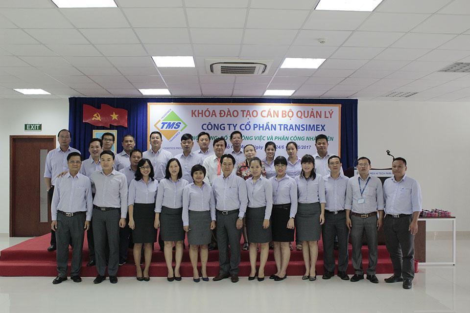 Transimex tổ chức khóa đào tạo cho cán bộ quản lý