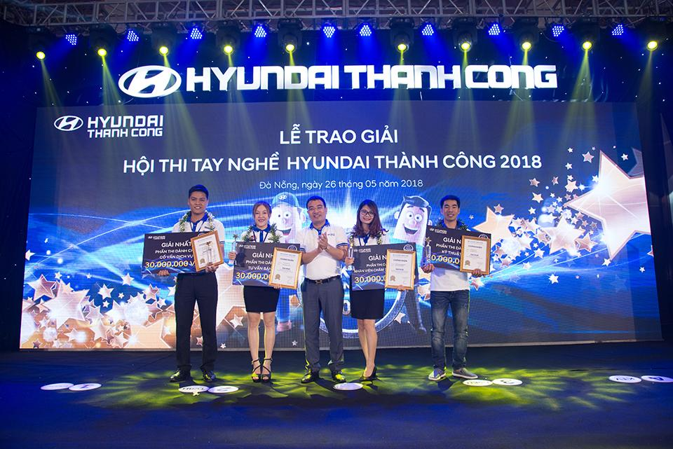 Hội thi tay nghề Hyundai Thành Công 2018 diễn ra sôi động