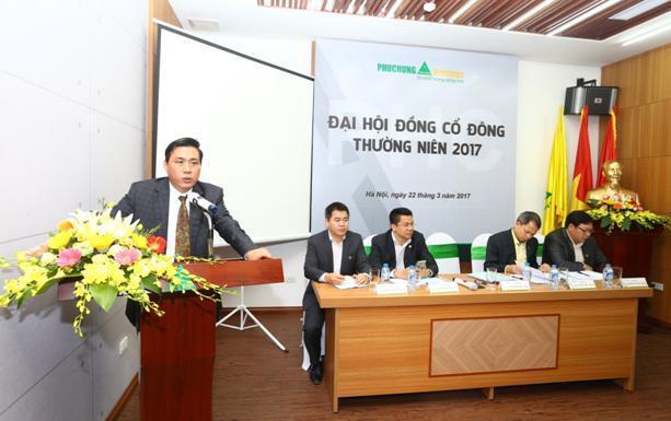 PHC: Kế hoạch 2017 lãi 25 tỷ đồng, tăng vốn và chuyển niêm yết sang HOSE