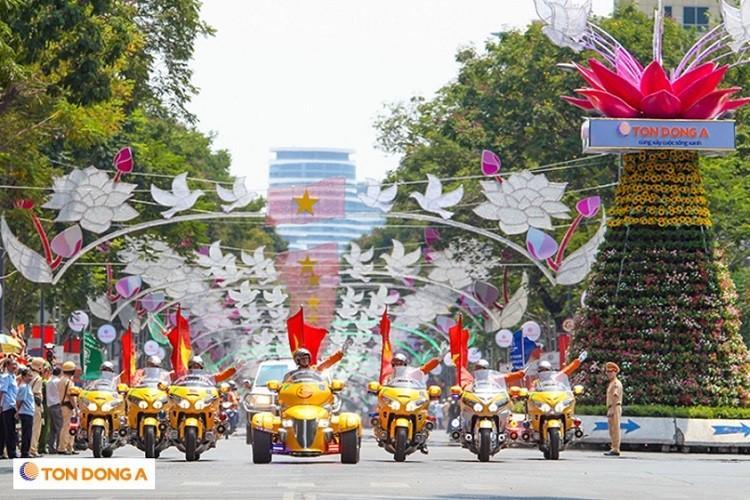 Đường Lê Duẩn nổi bật giữa Sài Gòn cùng thương hiệu Tôn Đông Á