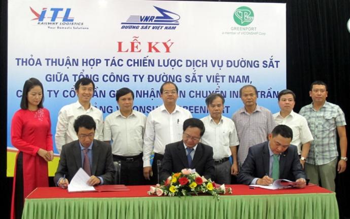Indo Trần - VNR - Viconship ký thỏa thuận hợp tác phát triển logistics