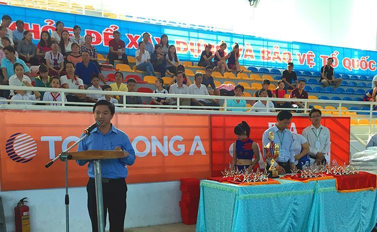 Tôn Đông Á tài trợ chính Giải Bóng Chuyền - Cup Lao động Bình Dương năm 2016