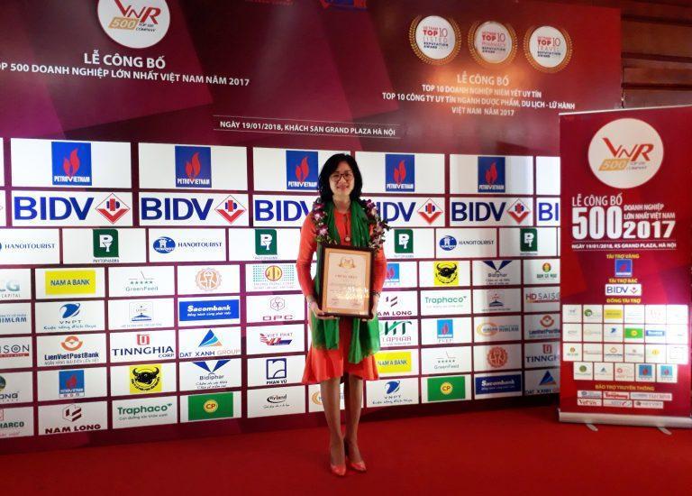 Kangaroo ghi danh Top 500 Doanh nghiệp tư nhân lớn nhất Việt Nam