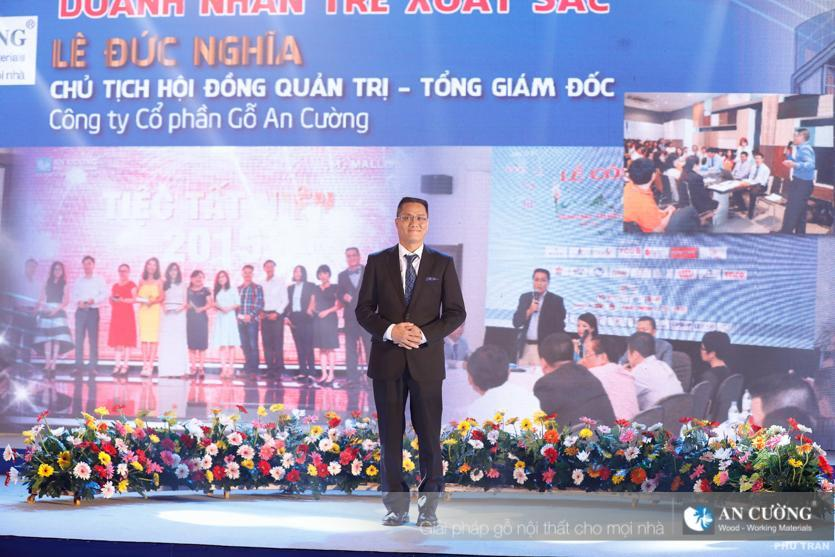 Ông Lê Đức Nghĩa đạt danh hiệu Doanh nhân trẻ xuất sắc TP. HCM năm 2016