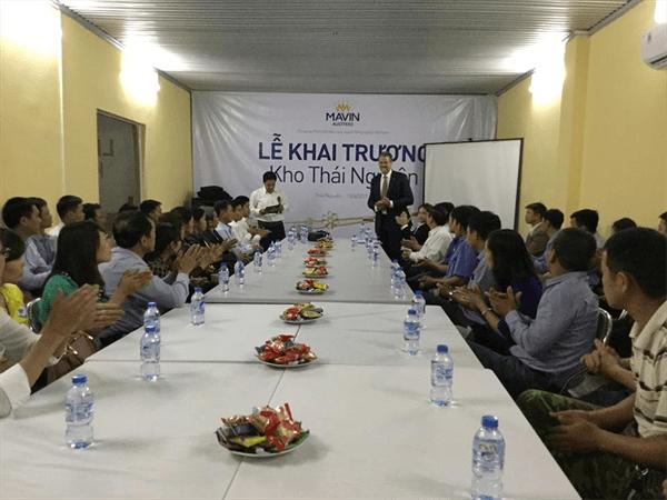 Mavin Austfeed chính thức Khai trương Chi nhánh kho mới tại Thái Nguyên