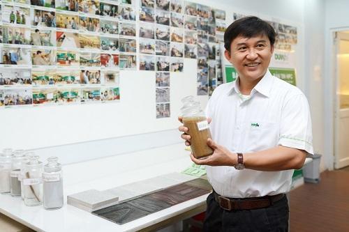 Ở Công ty CN Vĩnh Tường - Kiến trúc sư lựa chọn vật liệu dựa trên sự am hiểu và cái tâm