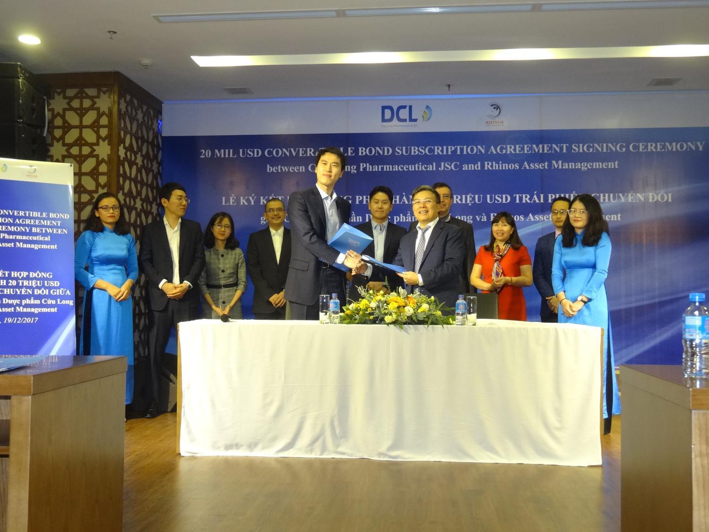 DCL hoàn tất việc ký kết hợp đồng phát hành trái phiếu chuyển đổi trị giá 20 triệu USD