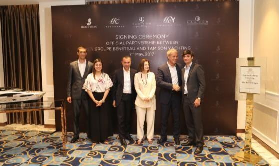 Tam Son Yachting trở thành nhà nhập khẩu chính thức của Tập đoàn Groupe Bénéteau tại Việt Nam