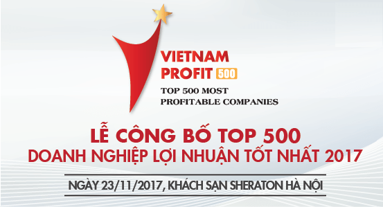 Bảng xếp hạng Profit500: Top 500 doanh nghiệp lợi nhuận tốt nhất 2017