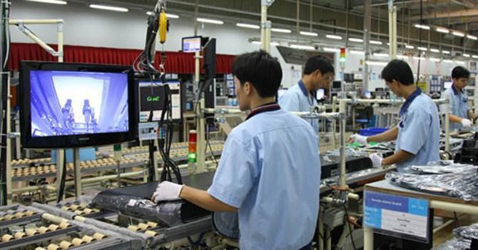 Công nghiệp chế biến chế tạo thu hút vốn đầu tư FDI