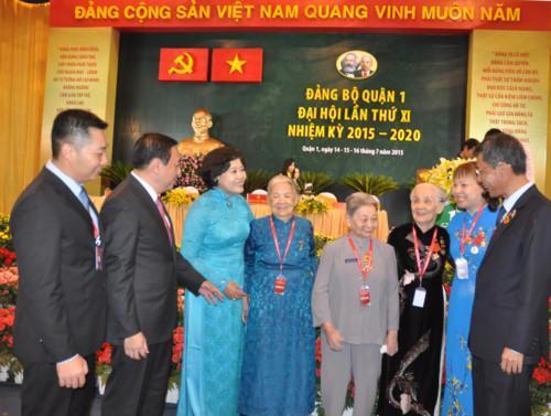 Ông Huỳnh Thanh Hải tái đắc cử Bí thư Quận ủy quận 1