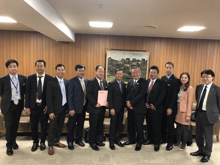 Tổng công ty Tín Nghĩa: Xúc tiến đầu tư tại Nhật Bản