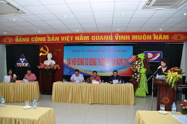 Đại hội cổ đông thường niên Công ty CP Sơn Hải Phòng 2017