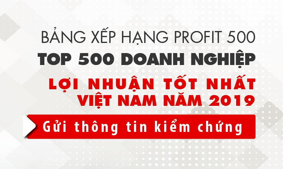 Gửi thông tin kiểm chứng BXH Profit500