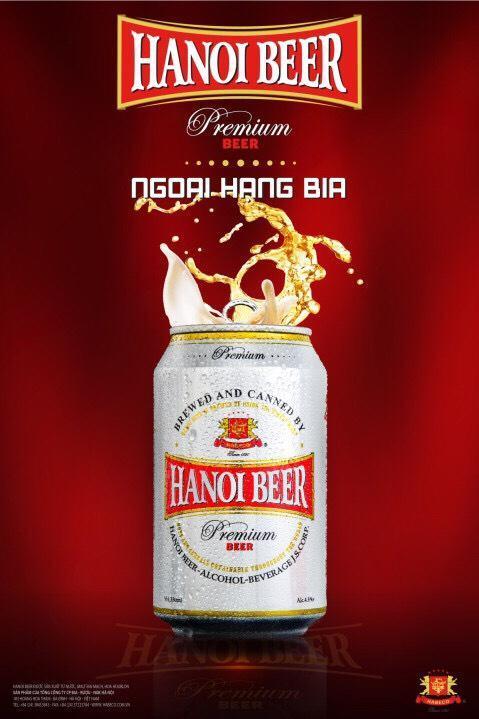 Bia Hà Nội tung bom tấn Hanoi Beer Premium dịp cuối năm