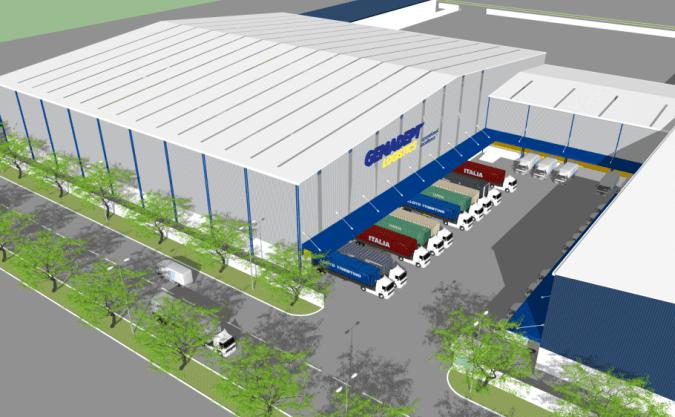 Gemadept sắp khai thác trung tâm phân phối hiện đại hàng đầu Việt Nam tại KCN Sóng Thần