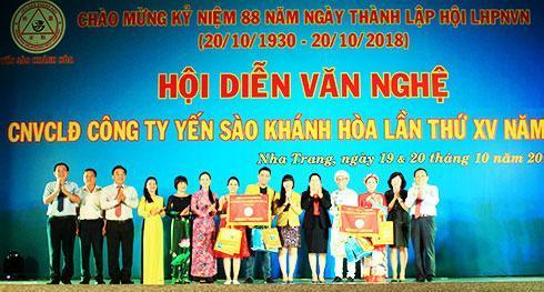 Công ty TNHH NN MTV Yến sào Khánh Hòa: Hội diễn văn nghệ