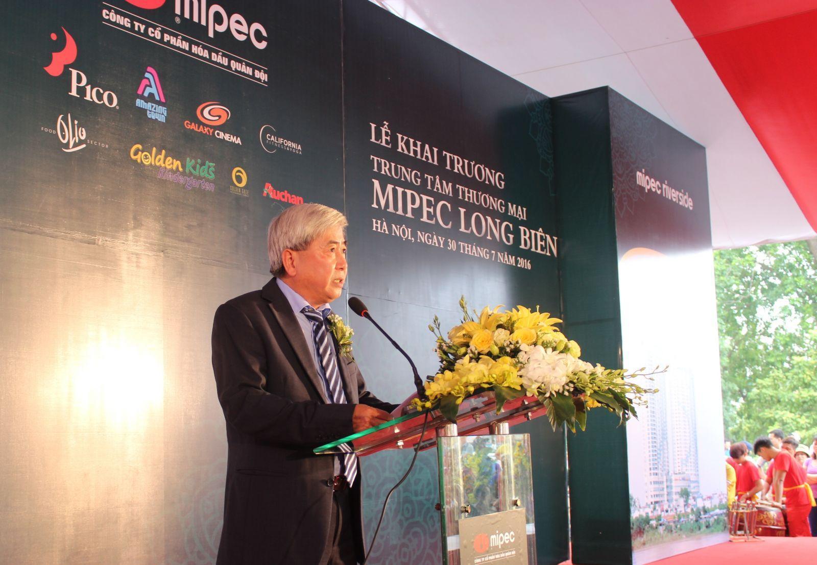 Khai trương trung tâm thương mại MipecLong Biên