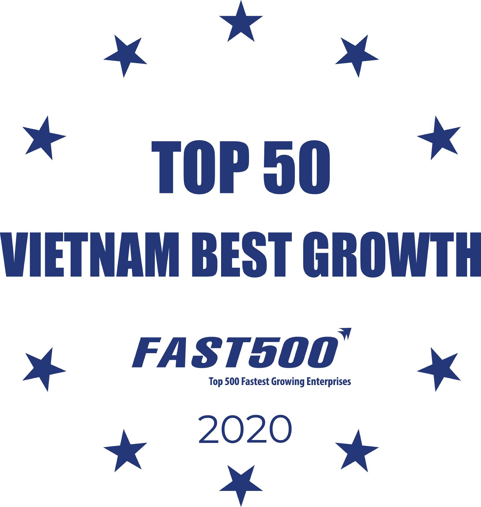 Top 50 doanh nghiệp tăng trưởng xuất sắc nhất 2020