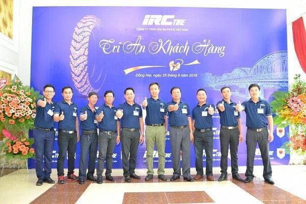 Lốp xe IRC – 20 năm chinh phục khách hàng Việt Nam