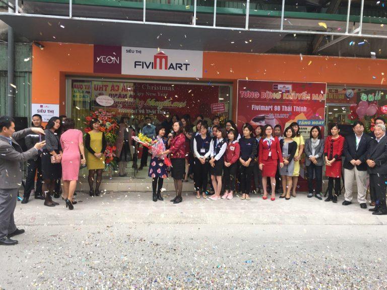 Siêu thị Aeon Fivimart thay đổi không ngừng để phục vụ khách hàng tốt hơn