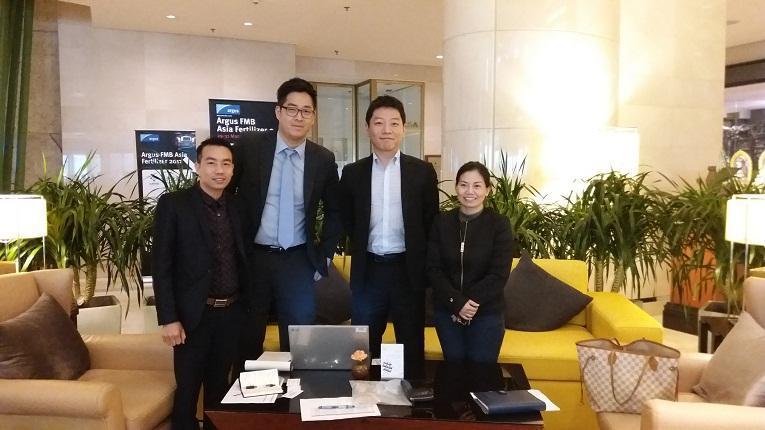 Công ty CP XNK Quảng Bình tham dự Hội nghị phân bón Quốc tế tại Bắc Kinh