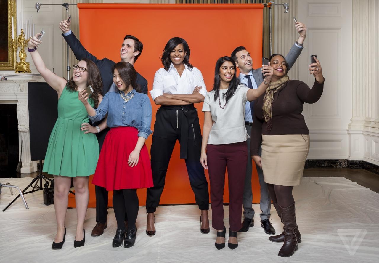 Đệ nhất phu nhân Michelle Obama đã thống lĩnh trên social media như thế nào?
