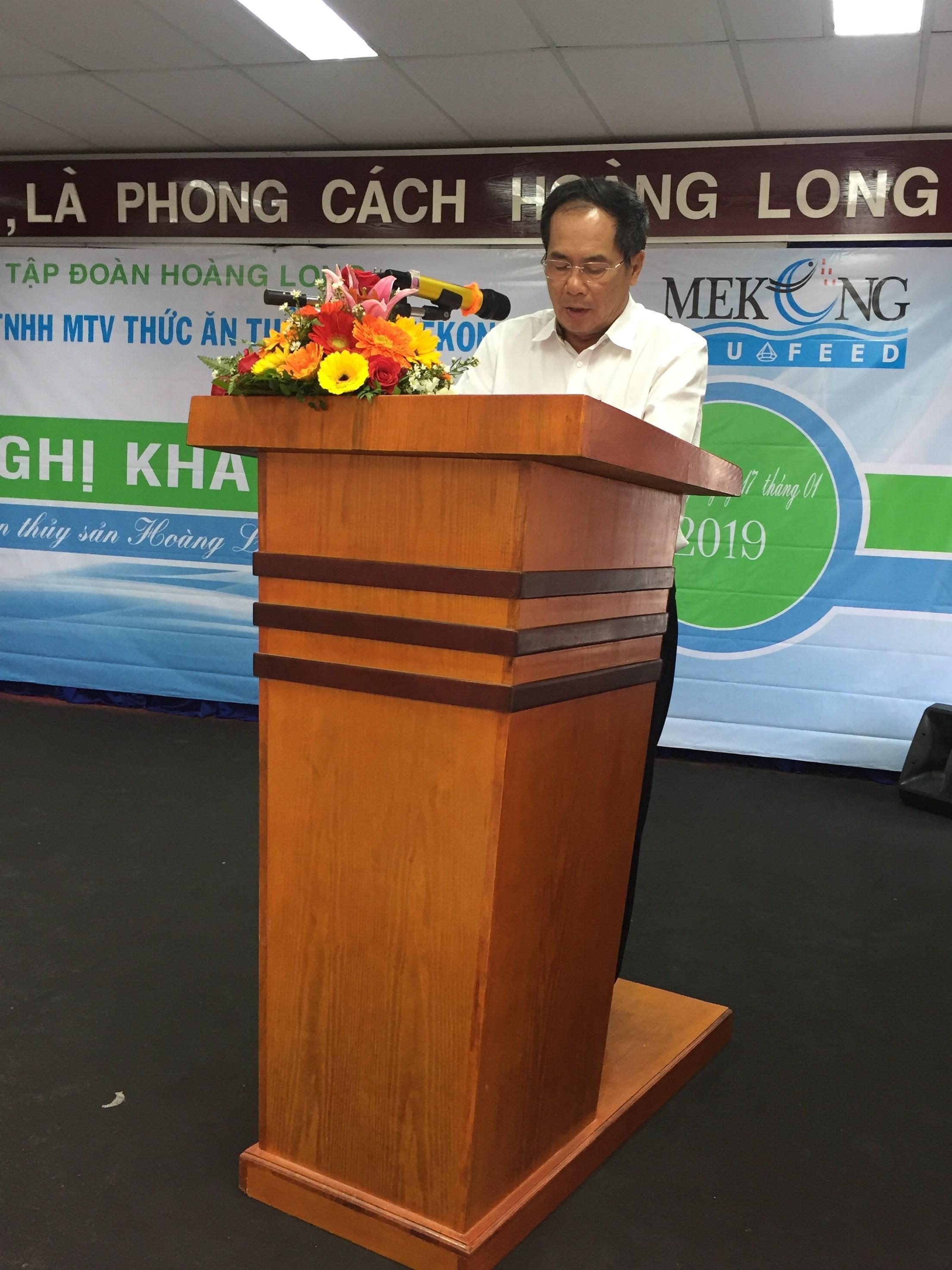 Công ty TNHH MTV chế biến thức ăn Thủy sản MeKong – Hoàng Long tổ chức hội nghị khách hàng