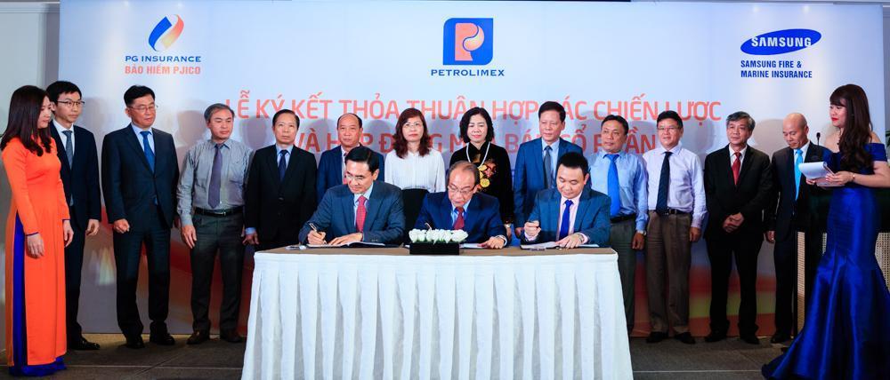 Lễ ký kết Thỏa thuận hợp tác chiến lược và Hợp đồng mua bán cổ phần – PJICO