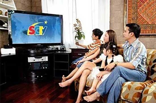 SCTV ưu đãi đóng trước cước thuê bao
