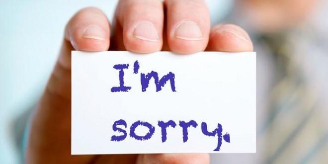 Lời xin lỗi không làm nên sự hài lòng cho khách hàng
