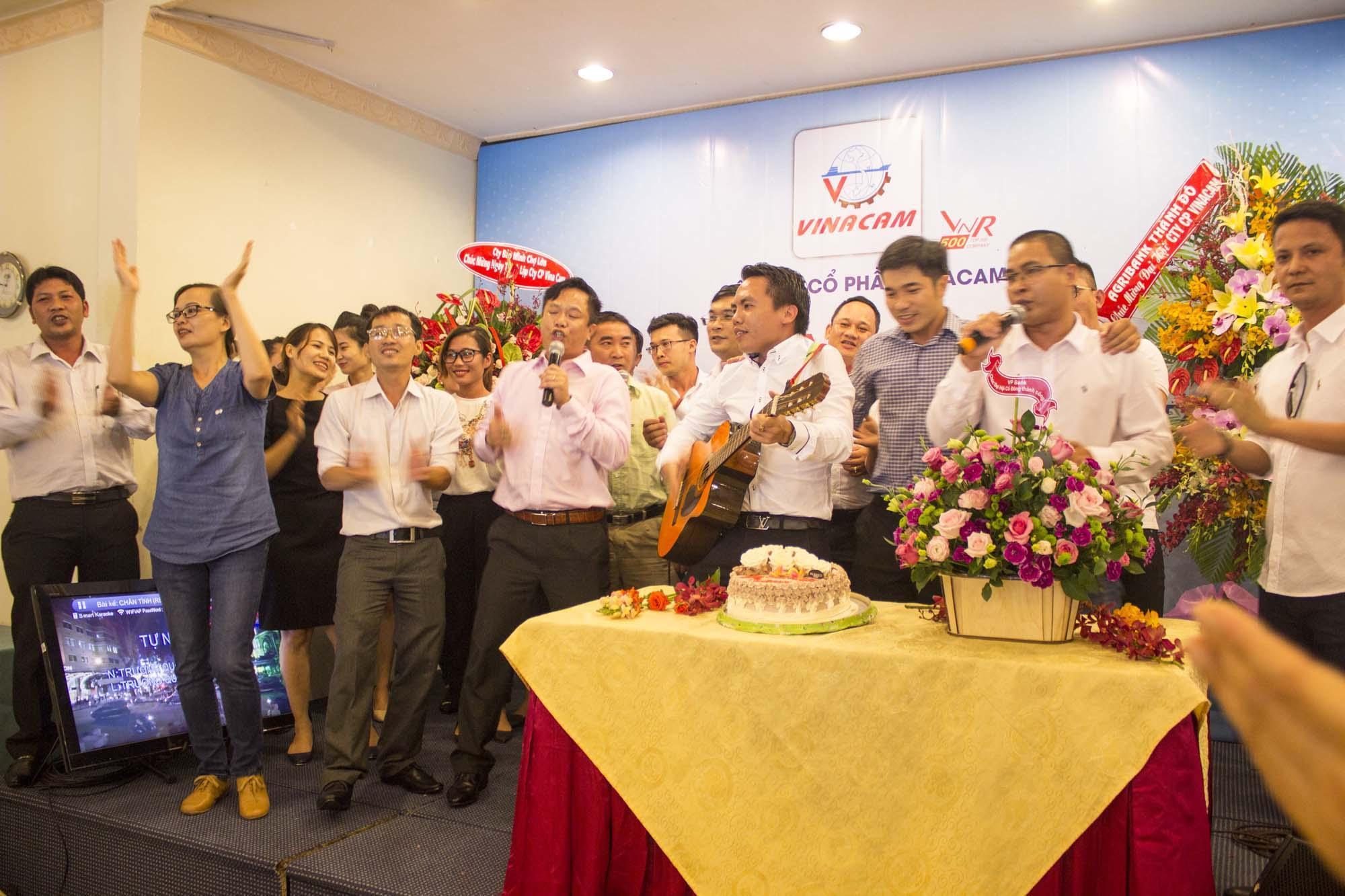Vinacam tổ chức Đại hội thường niên và kỉ niệm sinh nhật lần thứ 12