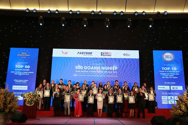 FAST500: Công bố xếp hạng 500 Doanh nghiệp tăng trưởng nhanh nhất Việt Nam 2019