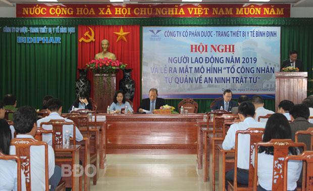 Công ty CP Dược - Trang thiết bị y tế Bình Định: Mục tiêu tổng doanh thu 1.600 tỷ đồng