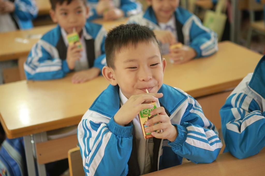 Vinasoy trao nguồn dinh dưỡng lành cho trẻ em Việt Nam