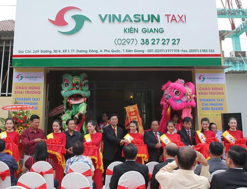 Vinasun Taxi khai trương chi nhánh mới tại Kiên Giang