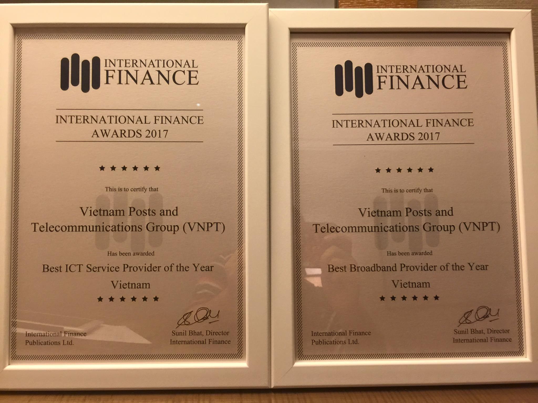 VNPT là nhà cung cấp băng rộng và các dịch vụ ICT tốt nhất Việt Nam 2017