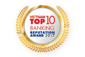 TOP 10 NGÂN HÀNG THƯƠNG MẠI VIỆT NAM  UY TÍN 2017