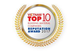 TOP 10 CÔNG TY VẬT LIỆU XÂY DỰNG UY TÍN NĂM 2017