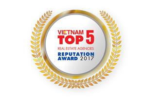 TOP 5 CÔNG TY TƯ VẤN & MÔI GIỚI BẤT ĐỘNG SẢN UY TÍN NĂM 2017