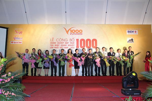 LỄ CÔNG BỐ BXH V1000 - 2015